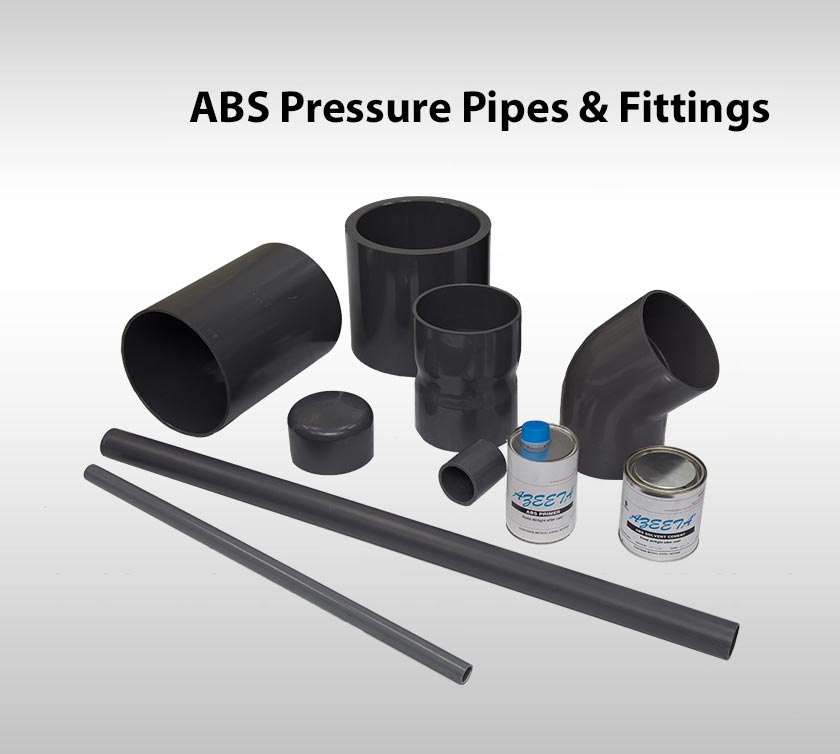ABS Pressure Pipes & Fittings
