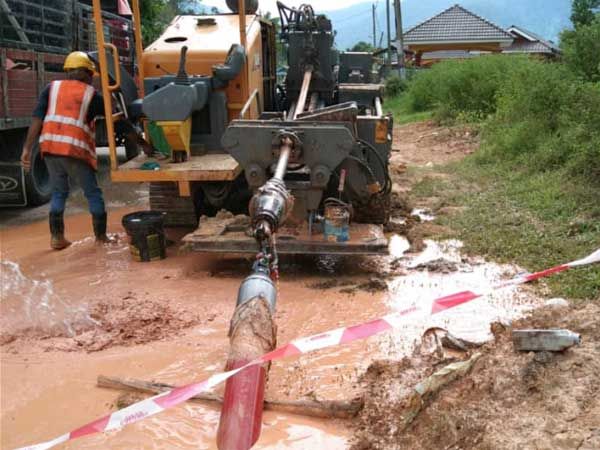 HDPE Red Conduit Pipe – Selangor Project
